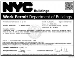 NYC Permit